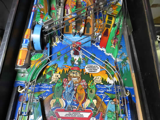 NEW PRODUCTION PINBALL PLAYFIELD PROTECTOR FISH TALES